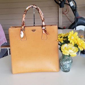 Authentic prada sac tote bag
